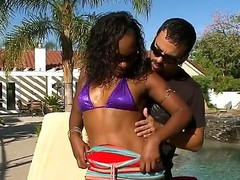 Gorgeous Ms Psexy seduces a horny youthful white stud Voodoo and enjoys in alfresco session