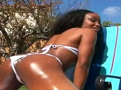 Take a look at fantastic chocolate chick Kianna Jayde having fun with Kurt