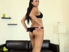 Bethany Benz shows every inch of her gorgeous body to the camera