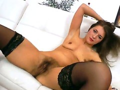 Brunette loves to maximally and vernacular say No to her sexy bang buddy
